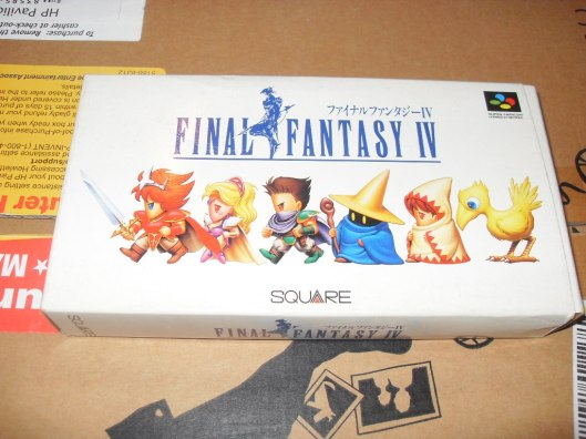 The original release of final fantasy 4, God Square love those white boxes even back then.