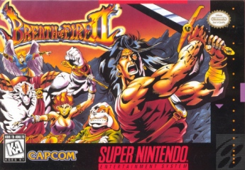 Breath of fire 2 box art